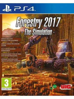Forestry 2017 The Simulation [PS4]