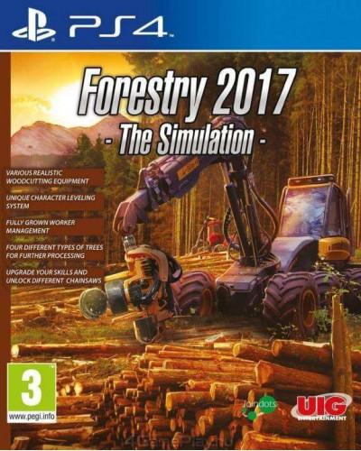 Игра Forestry 2017 The Simulation [PS4]