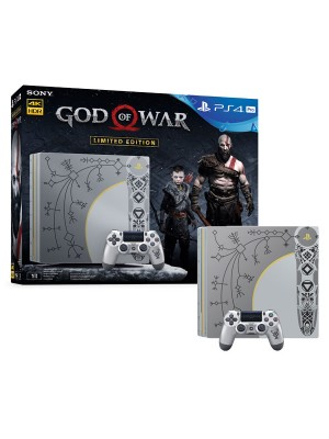 Игровая приставка Sony PlayStation 4 PRO 1TБ [CUH-7108B] God Of War Limited Edition