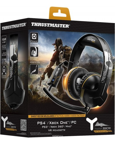 Игровые наушники Thrustmaster 300CPX Ghost Recon Edition [PS4,PS3,XBOX ONE,PC]