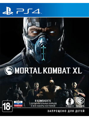Mortal Kombat XL [PS4] [Б/У]