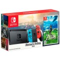 Игровая приставка Nintendo Switch Neon Red/Neon Blue 32GB + The Legend of Zelda