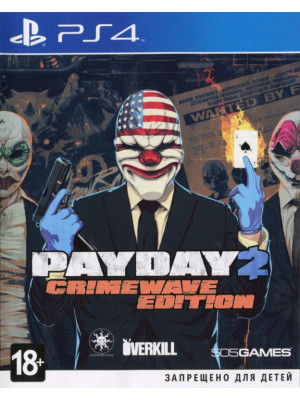Pay Day 2 : Crimewave Edition [PS4]