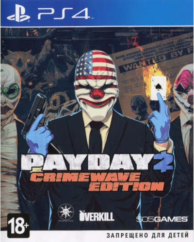 Игра Pay Day 2 : Crimewave Edition [PS4]