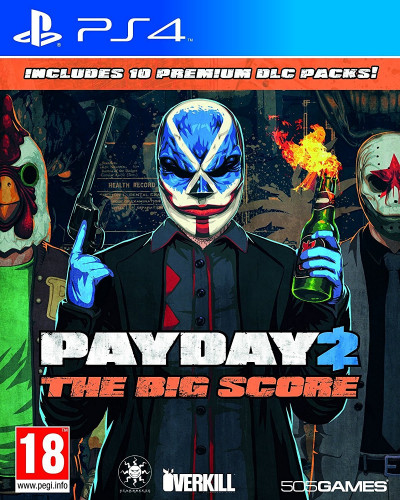 Игра Pay Day 2 : The Big Score [PS4]