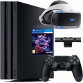Комплект Sony PlayStation 4 Pro 1ТБ Black [CUH-7216B] + PS VR + Camera + VR Worlds