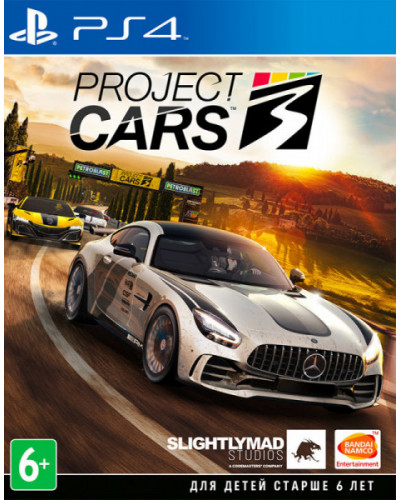 Игра Project Cars 3 [PS4]