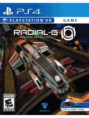 Radial-G: Racing Revolved [PS4,PS VR]