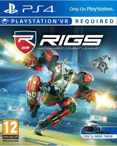 Игра Rigs : Mechanized Combat League