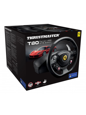 Руль Thrustmaster T80 Ferrari 488 GTB Edition [PS4]
