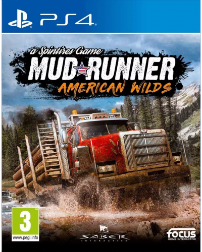 Spintires : MudRunner American Wilds [PS4]