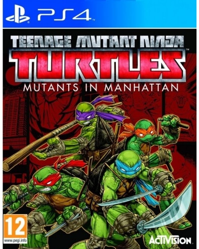 Teenage Mutant Ninja Turtles : Mutants in Manhattan [PS4]