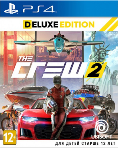 The Crew 2 Deluxe Edition [PS4]