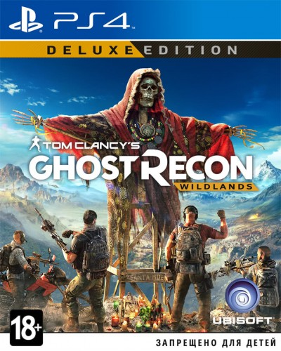 Tom Clancy's Ghost Recon : Wildlands Deluxe Edition [PS4]