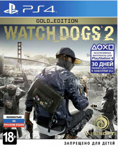 Watch Dogs 2 : Gold Edition [PS4]