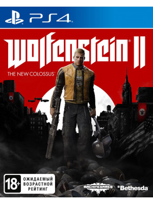 Wolfenstein II (2) : The New Colossus [PS4]