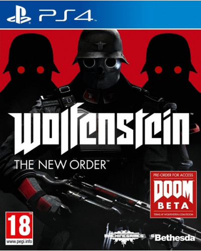 Wolfenstein : The New Order [PS4]