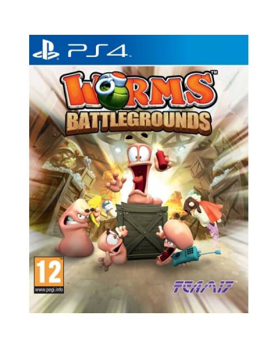 Worms : Battlegrounds для Sony PS4