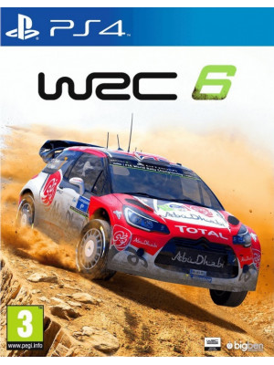 WRC 6 FIA World Rally Championship [PS4]