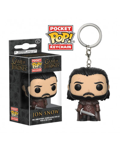 Брелок Funko Pocket POP! Keychain: Game of Thrones: S7 Jon Snow 14690-PDQ
