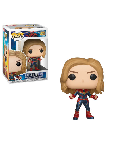 Фигурка Funko POP! Bobble: Marvel: Captain Marvel: Captain Marvel w/Chase 36341