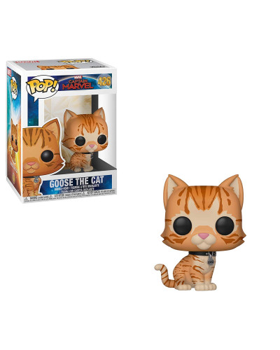 Фигурка Funko POP! Bobble: Marvel: Captain Marvel: Goose the Cat 36379