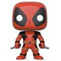"Фигурка Funko POP! Bobble: Marvel: Deadpool-:10"" Deadpool w/Swords (RD) (Exc) 44726"