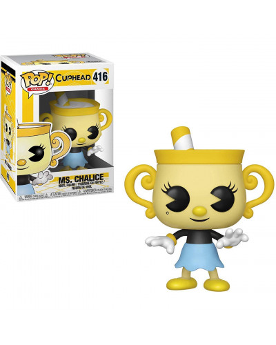 Фигурка Funko POP! Vinyl: Games: Cuphead: Ms. Chalice 34476
