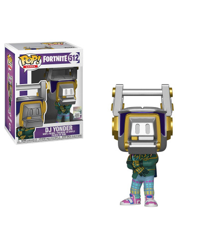Фигурка Funko POP! Vinyl: Games: Fortnite S3: DJ Yonder 39050