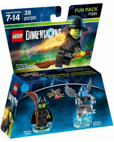 Lego Dimensions 71221 Fun Pack Wicked Witch