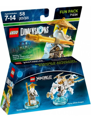 Lego Dimensions 71234 Fun Pack (Sensei Wu)