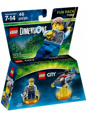 Lego Dimensions 71266 Fun Pack (Chase McCain)