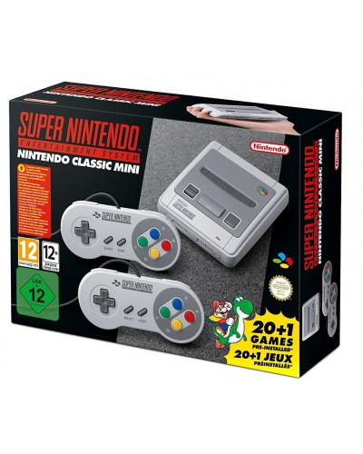 Nintendo SNES Mini + 21 игра