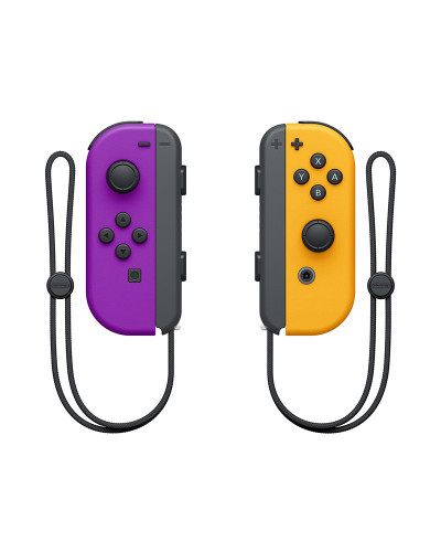 Nintendo Joy-Con controllers [Neon Purple/Neon Orange]