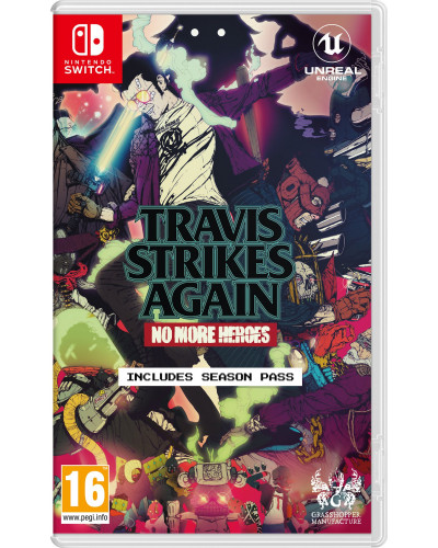 Travis Strikes Again: No More Heroes [Nintendo Switch]