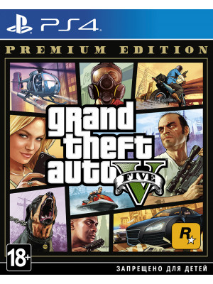 Grand Theft Auto V [GTA 5] Premium Edition [PS4]