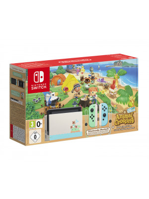 Игровая приставка Nintendo Switch. Издание Animal Crossing – New Horizons