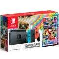 Игровая приставка Nintendo Switch Neon Red/Neon Blue 32GB + Mario Kart 8