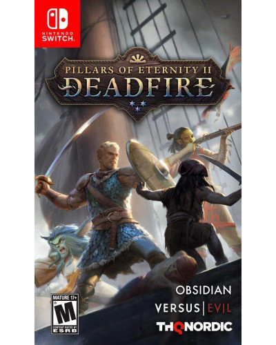 Pillars of Eternity II: Deadfire. Ultimate Edition Nintendo Switch