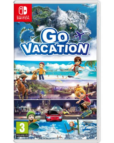 Go Vacation [Nintendo Switch]