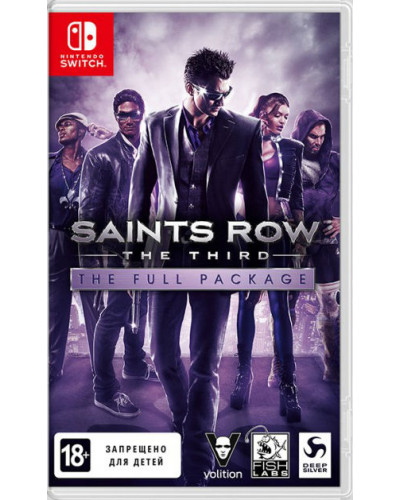 Saints Row The Third для Nintendo Switch