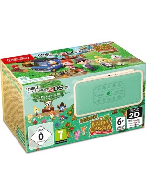 Игровая приставка New Nintendo 2DS XL Animal Crossing Edition + игра Animal Crossing