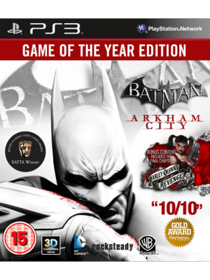 Batman: Arkham City Game of The Year Edition [PS3]