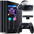 Комплект Sony PlayStation 4 Pro 1ТБ Black [CUH-7216B] + PS VR + Camera + VR Worlds + Move