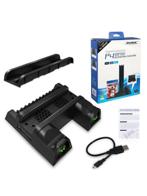 PS4 Slim/Pro Multi-Functional Cooling Stand w LED TP4-1785 DOBE