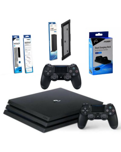 Sony PlayStation 4 Pro 1ТБ Black Super Pack