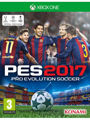 Pro Evolution Soccer 2017 [PES 2017] [Xbox One] [Б/У]