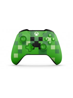 Microsoft Xbox One S Wireless Controller Minecraft Creeper