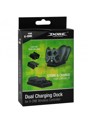 XB1 Dual Charging Dock Dobe TYX-532 Black [Xbox One]